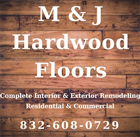 M & J Hardwood Floors Logo