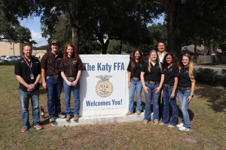 Katy FFA Students State Champs