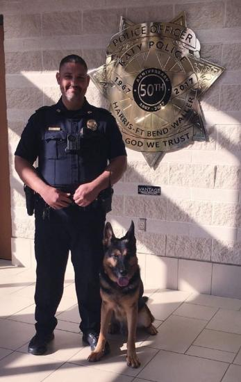 Katy PD Gets New K-9